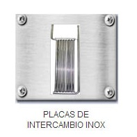 PLACAS DE INTERCAMBIO INOX