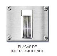 PLACAS DE INTERCAMBIO INOX
